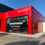 Eingang Karosseriezentrum Eisemann in Fellbach